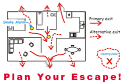 Plan Your Fire Escape Route