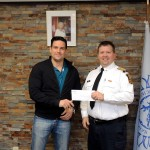 UNION GAS Presents Cheque to SFES