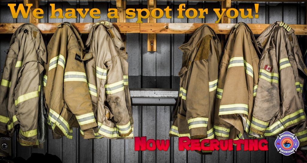 Apply to be a firefighter today!