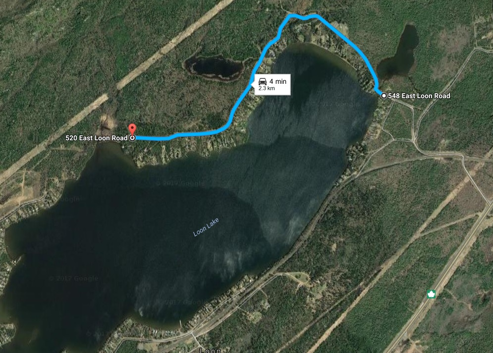 Map of Loon Closure